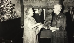KLPT Ladies - HRH The Queen Mother and Lady Evershed